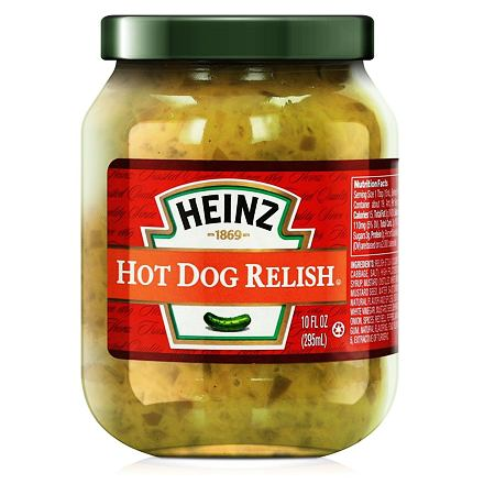 Heinz Hot Dog Relish 295 ml