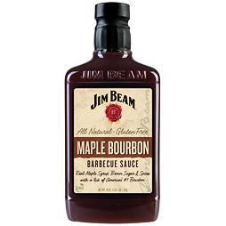 Jim Beam Maple Bourbon BBQ Sauce 510 g