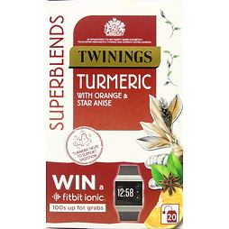 Twinings Superblends Turmeric with Orange & Star Anise 20 ks 40 g