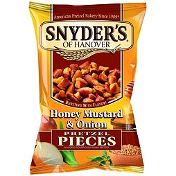 Snyder's Pretzel Pieces Honey Mustard & Onion 125 g