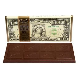 Bartons Million Dollar Creamy Milk Chocolate Bar 57 g