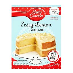 Betty Crocker Zesty Lemon Cake Mix 425 g