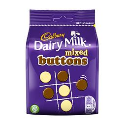 Cadbury Dairy Milk Mixed Buttons 115 g