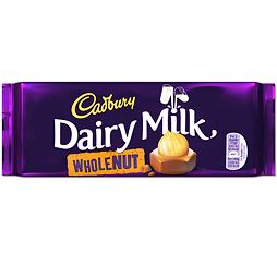 Cadbury Dairy Milk Wholenut 120 g