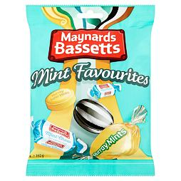Maynards Bassetts Mint Favourites 192 g