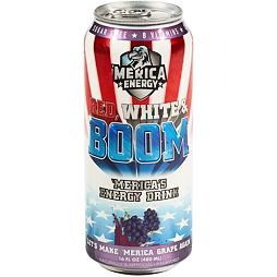 Merica Energy Red, White & Boom Let's Make 'Merica Grape Again 480 ml