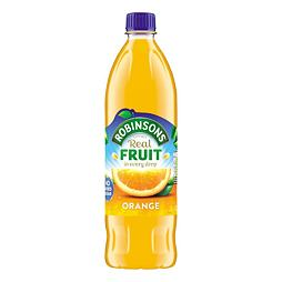 Robinsons Real Fruit Orange No Added Sugar 1 l