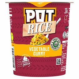 Pot Rice Vegetable Curry 87 g