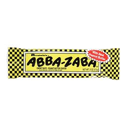 Abba-Zabba chewy taffy with peanuts 51,3 g
