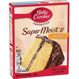 Betty Crocker Super Moist Yellow Cake Mix 432 g
