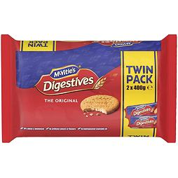McVitie's Digestives The Original Twin Pack 2x400 g