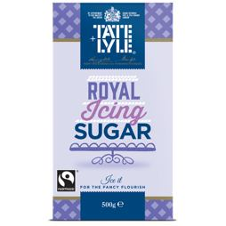 Tate & Lyle Sugars Fairtrade Royal Icing Sugar 500 g