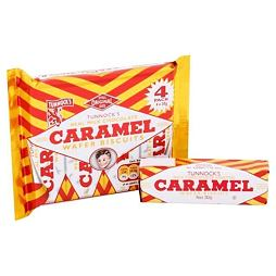 Tunnock's Chocolate Caramel Wafer Biscuits 4x30 g