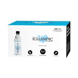 Icelandic Glacial Water 500 ml Box of 24