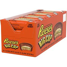Reese's Big Cup 39 g Box of 16