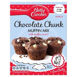 Betty Crocker Chocolate Chunk Muffin Mix 335 g