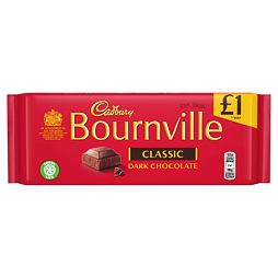 Cadbury Bournville Classic Dark Chocolate 100 g