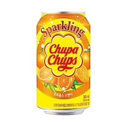 Chupa Chups Sparkling Orange Soda 345 ml
