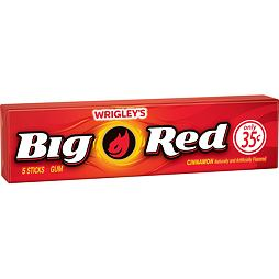 Big Red Cinnamon Gum 5 ks 13.5 g
