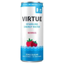 Virtue Sparkling Energy Water Berries 250 ml