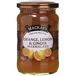 Mackays Orange, Lemon & Ginger Marmalade 340 g