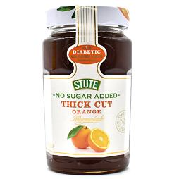 Stute No Sugar Added Thick Cut Orange Marmalade 430 g