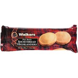 Walkers Pure Butter Shortbread Highlanders 200 g