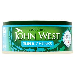 John West Tuna Chunks in Brine 145 g