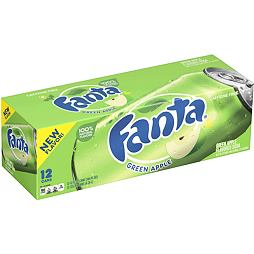 Fanta Green Apple 355 ml 12 ks Celé Balení