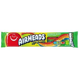 Airheads Xtremes Rainbow Berry Sour Belts 57 g
