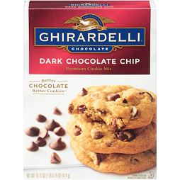 Ghirardelli Premium Cookie Mix Dark Chocolate Chip 474 g