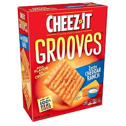 Cheez-It Grooves Zesty Cheddar Ranch 255 g