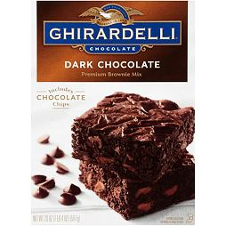 Ghirardelli Dark Chocolate Premium Brownie Mix 567 g