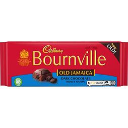 Cadbury Bournville Old Jamaica Dark Chocalate Rum & Raisin 100 g