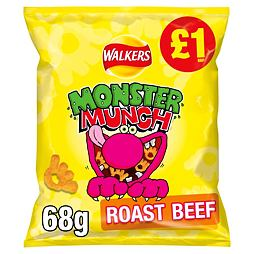Monster Munch Roast Beef 60 g PM