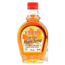 Keejo 100% Pure Maple Syrup 250 ml