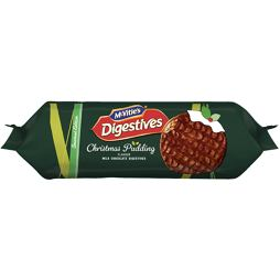 McVitie's Milk Chocolate Digestives Christmas Pudding 250 g