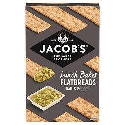 Jacob's Salt & Black Pepper Flatbreads 150 g