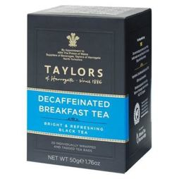 Taylors of Harrogate Decaff Breakfast Tea 20ks 50g