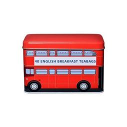 London Red Bus English Breakfast Tea Tin 40 ks 125 g
