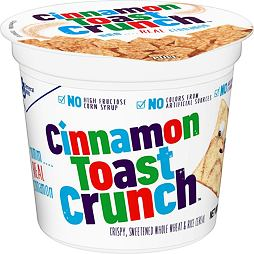 Cinnamon Toast Crunch Cereal Cup 56 g