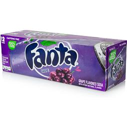 Fanta Grape 355 ml 12 ks Celé Balení