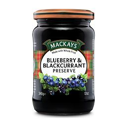 Mackays Blueberry & Blackcurrant Preserve 340 g
