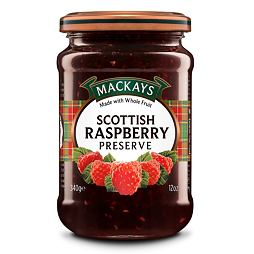 Mackays Scottish Raspberry Preserve 340 g
