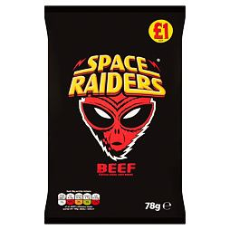Space Raiders Beef 78 g PM