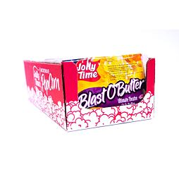 Jolly Time Blast O Butter 100 g 18 ks Celé Balení
