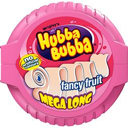 Hubba Bubba Mega Long Fancy Fruit 56.7 g