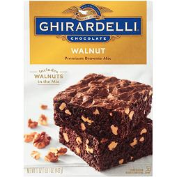 Ghirardelli Premium Brownie Mix Walnut 482 g