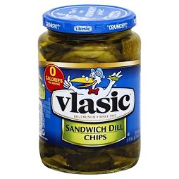 Vlasic Sandwich Dill Chips 710 ml