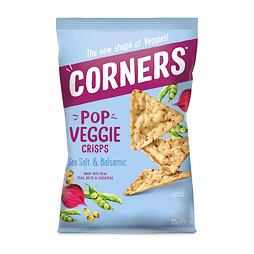 Corners Pop Veggie Crisps Sea Salt & Balsamic 85 g
